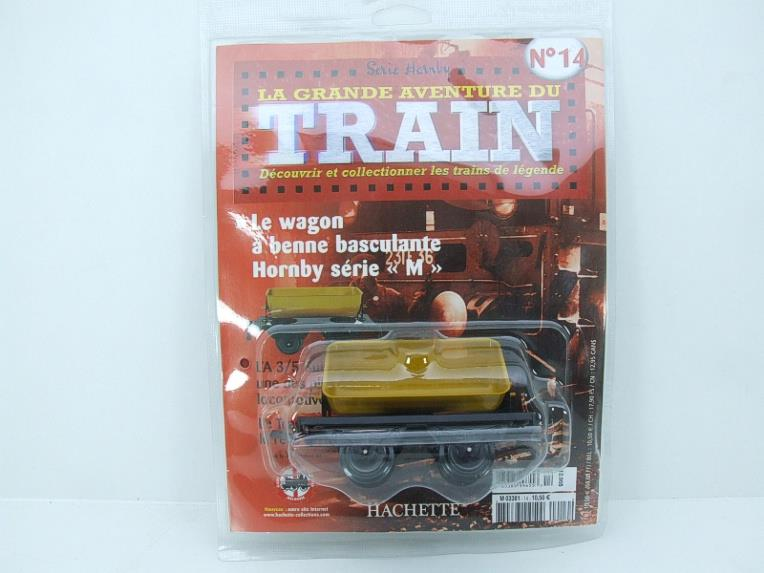 "Hornby Hachette Series French O Gauge No.14 ""Yellow Side Tipping"" Wagon NEW Pack image 15"