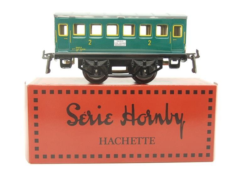 "Hornby Hachette Series French O Gauge No.34 ""SNCF"" Green 2nd Class Coach NEW Pack image 11"