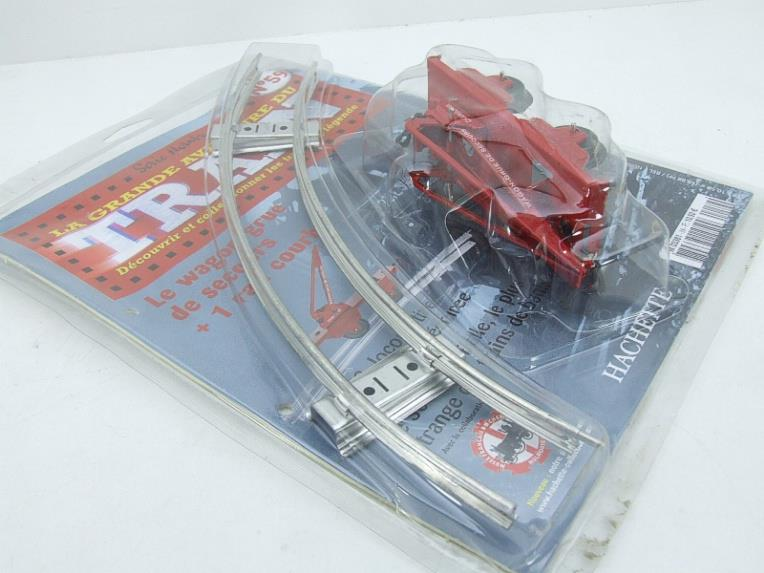 "Hornby Hachette Series French O Gauge No.59, 10 Ton ""Red Crane Truck"" Wagon NEW Pack image 13"