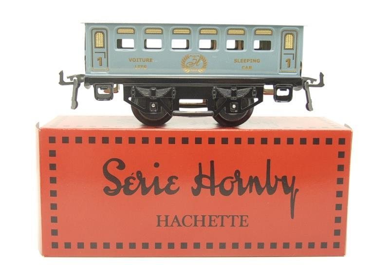 Hornby Hachette Series French O Gauge No.60 L/Blue 'Voiture Lits 1st Class 'Sleeping Car' Coach NEW image 11