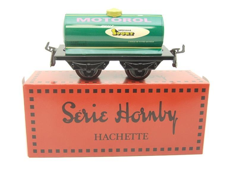 "Hornby Hachette Series French O Gauge No.40 ""MOTOROL"" Green Tanker Wagon NEW Pack image 11"