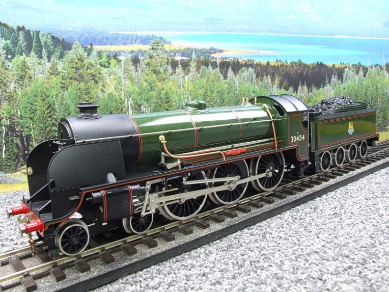 "ACE Trains O Gauge E/34-E2 BR Pre 56 Gloss Lined Green 4-6-0 ""Queen Guinevere"" 30454 Elec 2/3 Rail image 13"