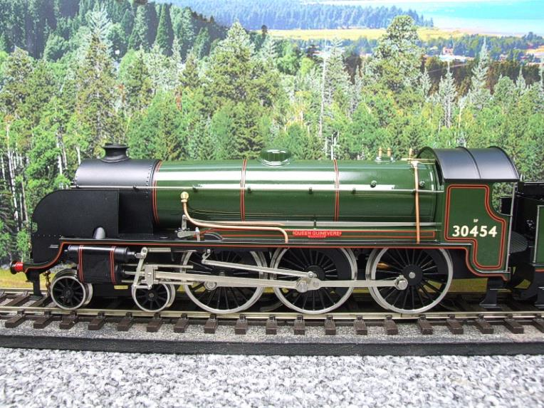 "ACE Trains O Gauge E/34-E2 BR Pre 56 Gloss Lined Green 4-6-0 ""Queen Guinevere"" 30454 Elec 2/3 Rail image 17"
