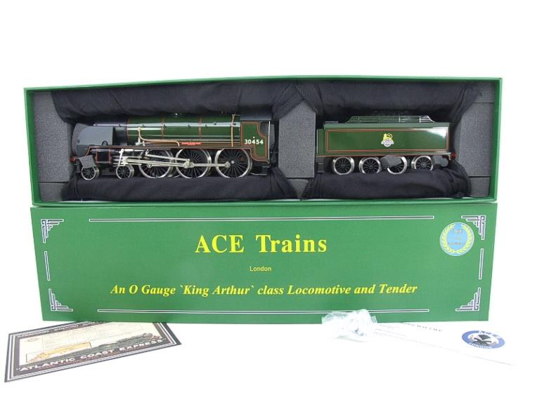 "ACE Trains O Gauge E/34-E2 BR Pre 56 Gloss Lined Green 4-6-0 ""Queen Guinevere"" 30454 Elec 2/3 Rail image 20"