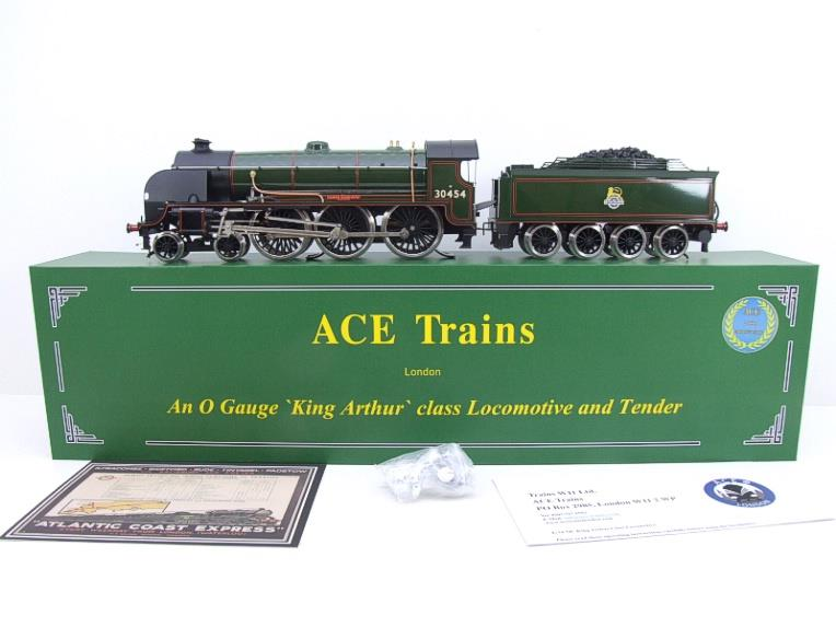 "ACE Trains O Gauge E/34-E2 BR Pre 56 Gloss Lined Green 4-6-0 ""Queen Guinevere"" 30454 Elec 2/3 Rail image 21"