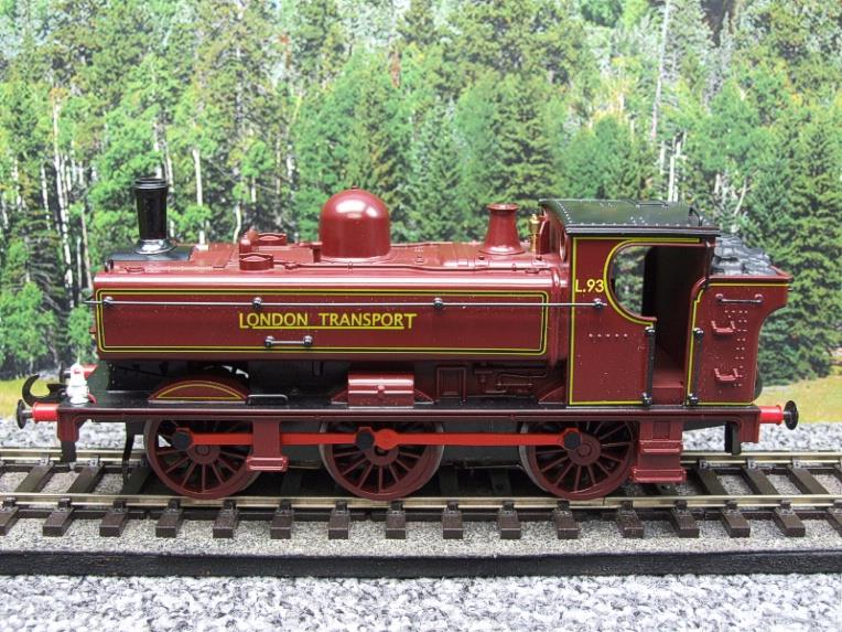 "Darstaed O Gauge LT ""London Transport"" Pannier Tank Loco L.93 Electric 3 Rail Boxed image 15"