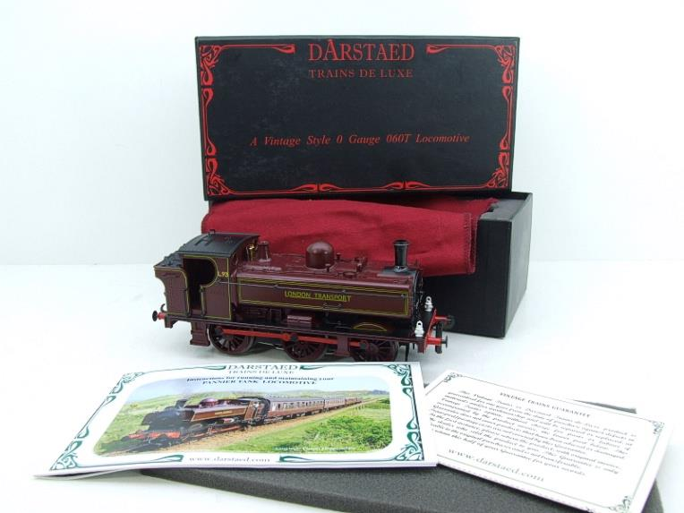 "Darstaed O Gauge LT ""London Transport"" Pannier Tank Loco L.93 Electric 3 Rail Boxed image 17"