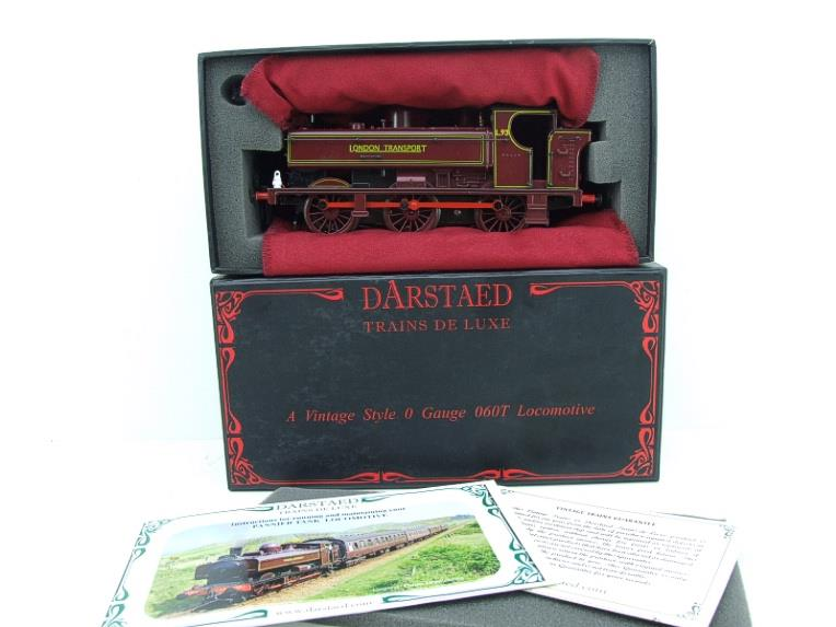 "Darstaed O Gauge LT ""London Transport"" Pannier Tank Loco L.93 Electric 3 Rail Boxed image 18"