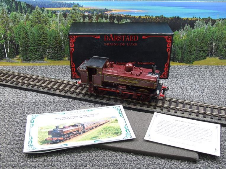 "Darstaed O Gauge LT ""London Transport"" Pannier Tank Loco L.93 Electric 3 Rail Boxed image 20"
