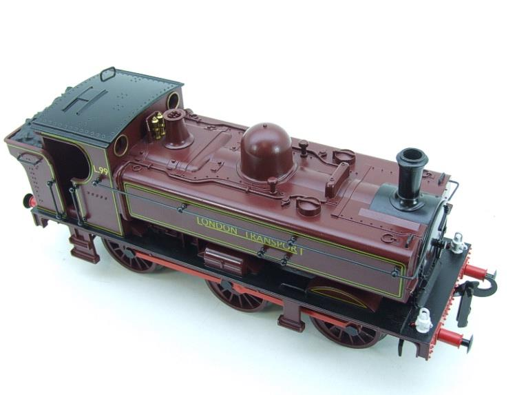 "Darstaed O Gauge LT ""London Transport"" Pannier Tank Loco L.99 Electric 3 Rail Boxed image 11"