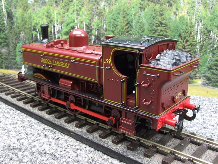 "Darstaed O Gauge LT ""London Transport"" Pannier Tank Loco L.99 Electric 3 Rail Boxed image 12"