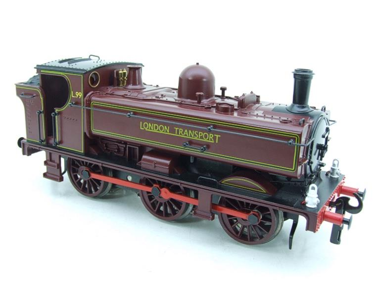 "Darstaed O Gauge LT ""London Transport"" Pannier Tank Loco L.99 Electric 3 Rail Boxed image 14"