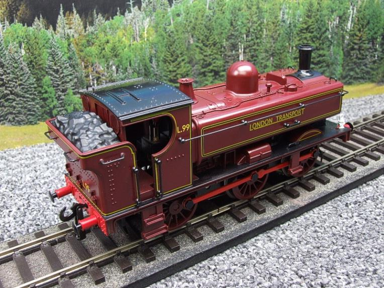 "Darstaed O Gauge LT ""London Transport"" Pannier Tank Loco L.99 Electric 3 Rail Boxed image 15"