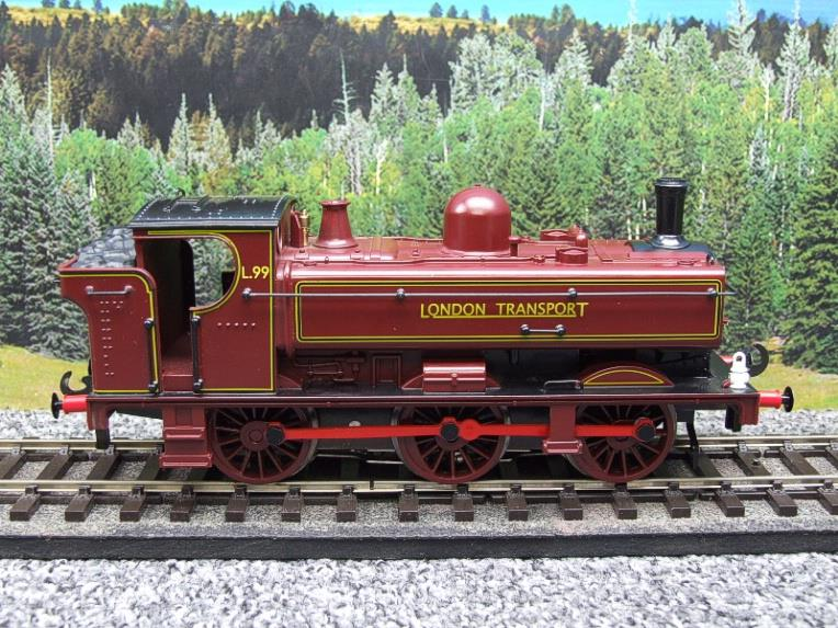 "Darstaed O Gauge LT ""London Transport"" Pannier Tank Loco L.99 Electric 3 Rail Boxed image 16"
