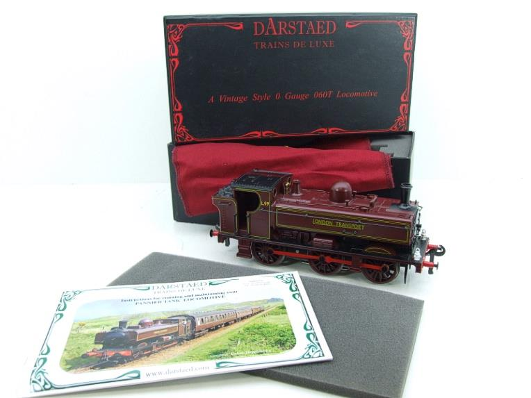 "Darstaed O Gauge LT ""London Transport"" Pannier Tank Loco L.99 Electric 3 Rail Boxed image 19"