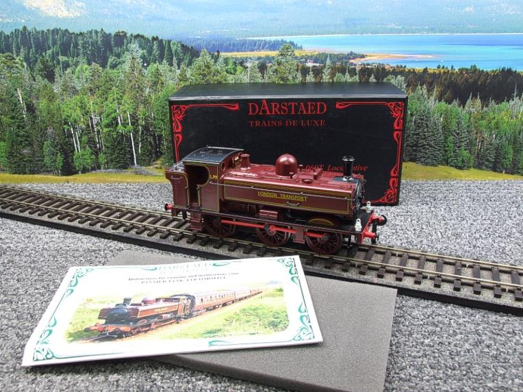 "Darstaed O Gauge LT ""London Transport"" Pannier Tank Loco L.99 Electric 3 Rail Boxed image 20"