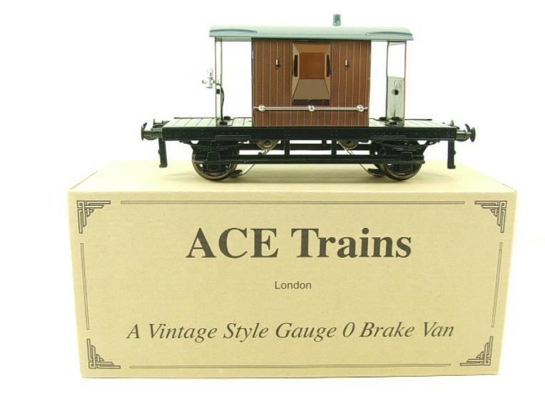 Ace Trains O Gauge G4 Vintage Style Brake Van With Lighting Boxed image 13