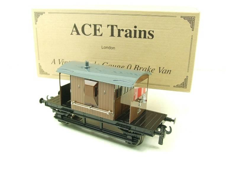 Ace Trains O Gauge G4 Vintage Style Brake Van With Lighting Boxed image 14