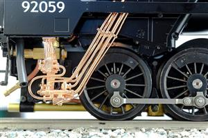 Gauge 1 Aster Accucraft 9F-Kit BR Class 9F 2-10-0 Loco & Tender R/N 92059 Live Steam Kit NEW image 6