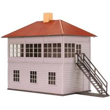 Atlas Trainman 2009004 - O Gauge Switch Tower Signal Cabin Kit image 1