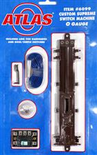 Atlas 6099 - O Gauge 3 Rail Remote Switch Machine, Point Motor Electric Operated image 1