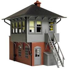 Atlas 66900 - O Gauge AL6900 Signal Box Switch Tower Factory Built up Fully Essembled image 1