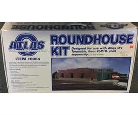 Atlas 6904 - O Gauge AL6904 Roundhouse  Kit - 3 Stall For 3-Rail or 2-Rail image 3