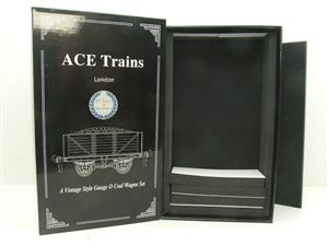 Ace Trains O Gauge Empty G5 Coal Wagon Set Box New x3 Storage Box image 1
