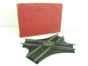 Hornby O Gauge Track CA2 Acute Angle Crossing Clockwork 2ft Radius Boxed image 1
