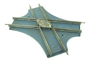 Hornby O Gauge CA2 Acute Angle Crossing Blue Base Edition Clockwork Track Boxed image 3