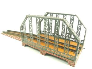 Marklin O Gauge Clockwork Girder Bridge Steam Powered