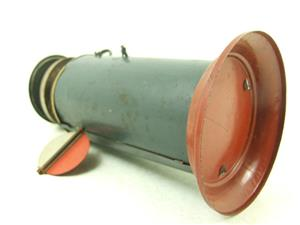 Marklin Similar Large Vintage Tinplate Warning Station Bell 150mm Height image 5