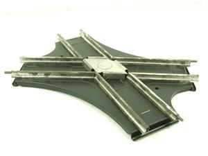 Hornby O Gauge CA2 Acute Angle Crossing Clockwork 2 Rail Track Boxed image 3
