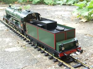 Gauge 1 Aster PLM 231A Pacific 4-6-2 Loco & Tender RN 6101 Live Steam Bxd image 10