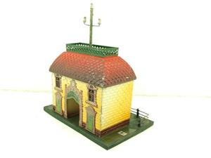 "Bing O Gauge Vintage Station ""Telephon"" Building image 3"