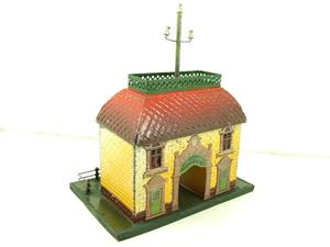 "Bing O Gauge Vintage Station ""Telephon"" Building image 4"