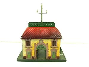 "Bing O Gauge Vintage Station ""Telephon"" Building image 5"