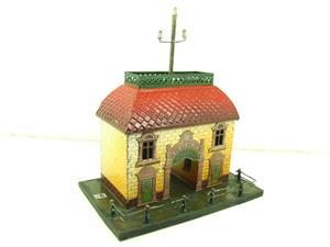 "Bing O Gauge Vintage Station ""Telephon"" Building image 10"