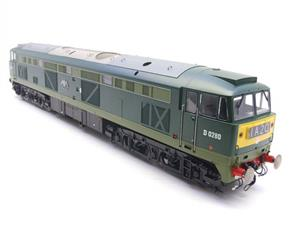 "Heljan O Gauge Item 5351 BR Green Class 53 GSYP ""Falcon"" Diesel Loco D0280 Electric Bxd image 2"