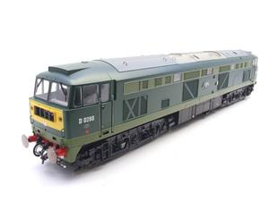 "Heljan O Gauge Item 5351 BR Green Class 53 GSYP ""Falcon"" Diesel Loco D0280 Electric Bxd image 6"