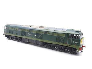 "Heljan O Gauge Item 5351 BR Green Class 53 GSYP ""Falcon"" Diesel Loco D0280 Electric Bxd image 9"
