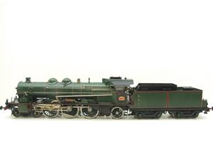 Gauge 1 Aster Green French PLM 231A Pacific 4-6-2 Loco & Tender R/N 6101 Live Steam Boxed image 1