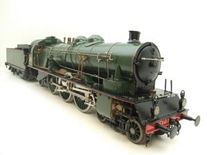 Gauge 1 Aster Green French PLM 231A Pacific 4-6-2 Loco & Tender R/N 6101 Live Steam Boxed image 2