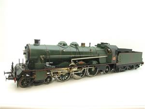 Gauge 1 Aster Green French PLM 231A Pacific 4-6-2 Loco & Tender R/N 6101 Live Steam Boxed image 3