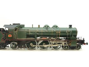 Gauge 1 Aster Green French PLM 231A Pacific 4-6-2 Loco & Tender R/N 6101 Live Steam Boxed image 4