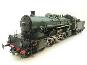 Gauge 1 Aster Green French PLM 231A Pacific 4-6-2 Loco & Tender R/N 6101 Live Steam Boxed image 6