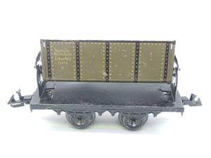 Bing O Gauge Vintage Tinplate Side Tipping Wagon image 1