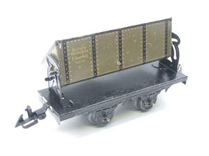 Bing O Gauge Vintage Tinplate Side Tipping Wagon image 2