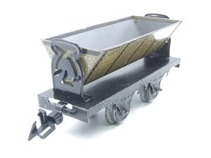 Bing O Gauge Vintage Tinplate Side Tipping Wagon image 4