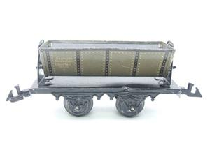 Bing O Gauge Vintage Tinplate Side Tipping Wagon image 5